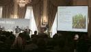 Jean-Claude Gandur, président du groupe AOG, au 9ème forum EMA Invest à Genève, le 3 octobre 2013