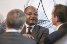 Mathieu Mandeng, DG de Standard Chartered Bank Cameroun, Président de l'APECCAM, au 9ème forum EMA Invest à Genève, le 3 octobre 2013