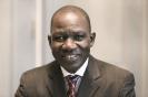 Alamine Ousmane Mey, ministre des Finances du Cameroun au 9ème forum EMA Invest à Genève, le 3 octobre 2013