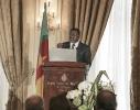 André Fotso, Président du Gicam, au 9ème forum EMA Invest à Genève, le 3 octobre 2013