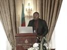 Daniel Abate, président du Mouvement des entrepreneurs du Cameroun, au 9ème forum EMA Invest à Genève, le 3 octobre 2013