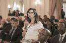Mérième Alaoui, journaliste African Business, au 9ème forum EMA Invest à Genève, le 3 octobre 2013
