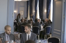 Business lunch du 9ème forum EMA Invest à Genève, le 3 octobre 2013