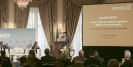 Roland Dominicé, CEO de Symbiotics SA au 9ème forum EMA Invest à Genève, le 3 octobre 2013